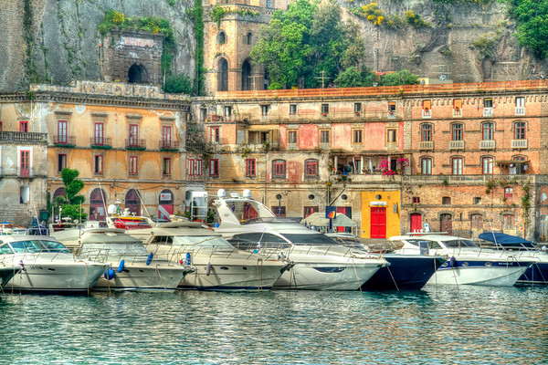 Boats of Sorrento